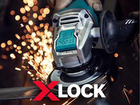 X-LOCK ANGLE GRINDERS