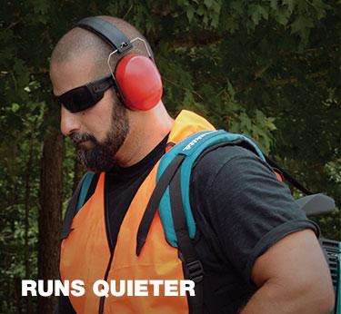 Runs Quiter