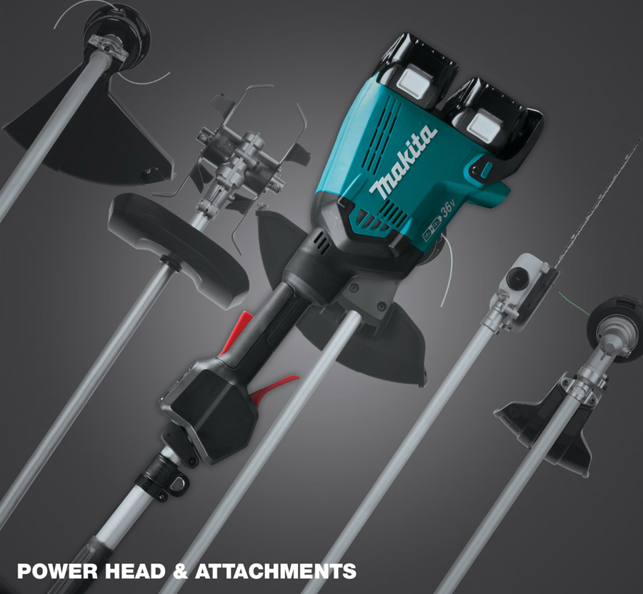 CORDLESS COUPLE SHAFT POWER HEAD