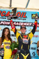 DUNGEY TAKES OVER POINTS LEAD AT HIGH POINT