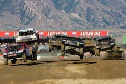HIGH FLYING ACTION FOR ROCKSTAR ENERGY DRINK / MAKITA TOOLS TEAM LEDUC RACING AT LOORS ROUNDS 7 & 8 IN UTAH