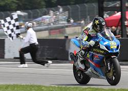 TOMMY HAYDEN CLAIMS THIRD SUPERBIKE VICTORY IN SUNDAY\'S RACE AT MID-OHIO