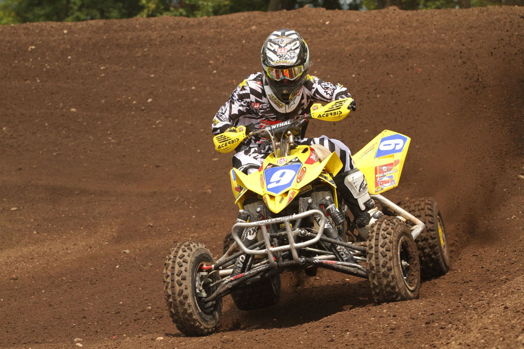 MAKITA'S JOSH CREAMER CLOSES IN ON THE ATV CHAMPIONSHIP AT RED BUD