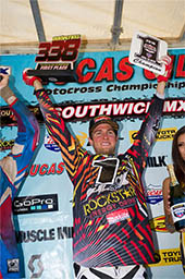 ROCKSTAR MAKITA SUZUKI'S RYAN DUNGEY WINS THE 2010 AMA MOTOCROSS CHAMPIONSHIP