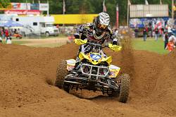 CREAMER PUTS SUZUKI ON TOP AGAIN IN MILLVILLE