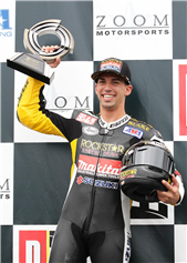 BLAKE YOUNG VICTORIOUS IN FINAL RACE OF THE AMA AMERICAN SUPERBIKE SEASON
