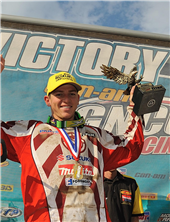 JOSH STRANG TIGHTENS HIS GRIP ON 2010 GNCC TITLE AT TITAN GNCC