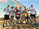 FMF MAKITA SUZUKI'S JOSH STRANG CLINCHES 2010 XC1 PRO CHAMPIONSHIP WITH A PODIUM FINISH AT POWERLINE GNCC
