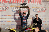 ROCKSTAR MAKITA SUZUKI'S CHRIS BORICH CLOSES OUT THE SEASON WITH A WIN AT LORETTA LYNN'S ATV GNCC