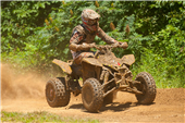 ROCKSTAR MAKITA SUZUKI'S CHRIS BORICH CELEBRATES WELL-EARNED VICTORY AT MILLFIELD GNCC