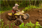 ROCKSTAR MAKITA SUZUKI'S CHRIS BORICH CONTINUES TO LEAD CHAMPIONSHIP DESPITE FLAT TIRE AT MOUNTAIN RIDGE GNCC