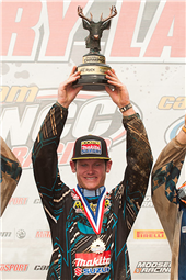 ROCKSTAR MAKITA SUZUKI'S CHRIS BORICH GRABS THE WIN AT BIG BUCK ATV GNCC