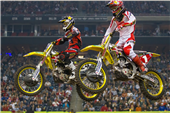 TEAM ROCKSTAR MAKITA SUZUKI CLAIMS A PODIUM AND TOP TEN FINISH AT HOUSTON SUPERCROSS
