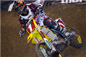 TEAM ROCKSTAR MAKITA SUZUKI'S RYAN DUNGEY SCORES A FOURTH PLACE FINISH AT INDY SUPERCROSS