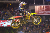 TEAM ROCKSTAR MAKITA SUZUKI SCORES A PODIUM AND TOP-FIVE FINISH AT OAKLAND SUPERCROSS