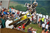 TEAM ROCKSTAR MAKITA SUZUKI TAKES 2ND, 8TH AT HIGH POINT MX