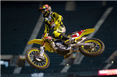 ROCKSTAR MAKITA SUZUKI'S RYAN DUNGEY FIFTH AND BRETT METCALFE EIGHTH AT PHOENIX SUPERCROSS