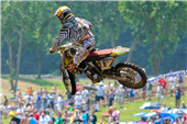 TEAM ROCKSTAR MAKITA SUZUKI GRABS A SECOND-PLACE PODIUM AND FOURTH OVERALL AT REDBUD MOTOCROSS!