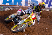 TEAM ROCKSTAR MAKITA SUZUKI'S RYAN DUNGEY BRINGS HOME A THIRD-PLACE PODIUM FINISH AT SALT LAKE CITY SUPERCROSS