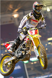 TEAM ROCKSTAR MAKITA SUZUKI'S RYAN DUNGEY GRABS A SECOND-PLACE PODIUM IN ST. LOUIS