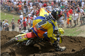 TEAM ROCKSTAR MAKITA SUZUKI PODIUMS AT HISTORIC UNADILLA