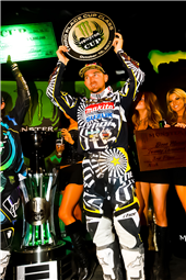 TEAM ROCKSTAR MAKITA SUZUKI PODIUMS AT MONSTER ENERGY CUP