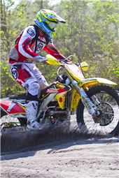 TEAM FMF MAKITA SUZUKI SCORES A TOP FIVE AT GNCC OPENER