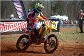 TEAM FMF MAKITA SUZUKI'S JOSH STRANG SCORES SECOND AT MAXXIS GENERAL GNCC