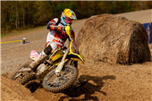 TEAM FMF MAKITA SUZUKI'S JOSH STRANG OVERCOMES BROKEN FOOTPEG TO FINISH FOURTH AT IRONMAN GNCC