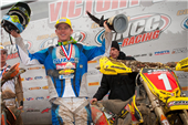 TEAM FMF MAKITA SUZUKI'S JOSH STRANG SCORES HIS FIRST 2011 VICTORY AND TAKES OVER POINTS LEAD AT THE STEELE CREEK GNCC
