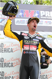 TEAM ROCKSTAR MAKITA SUZUKI CELEBRATES A WIN & THREE PODIUMS AT ROAD AMERICA