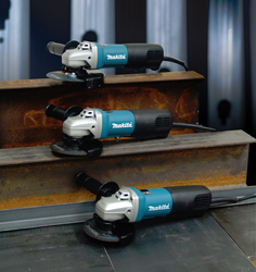 MAKITA'S HIGH-POWER GRINDER LINE-UP DELIVERS MORE POWER FOR THE MOST DEMANDING APPLICATIONS