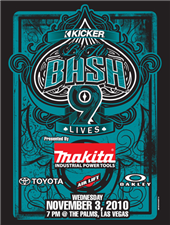 MAKITA TO JOIN OAKLEY, TOYOTA, ROCKSTAR, OTHERS AT KICKER AUDIO'S BIG AIR BASH IX AT THE PALMS IN LAS VEGAS