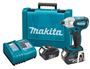 "MAKITA'S NEW 18V LXT LITHIUM-ION CORDLESS IMPACT DRIVER PROVIDES MORE TORQUE, WITH 18V POWER AND 12V WEIGHT New ""one-touch"" chuck added for ease-of-use"