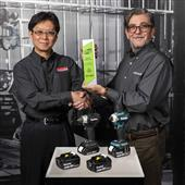 MAKITA RECOGNIZED FOR OUTSTANDING RECYCLING EFFORTS