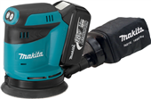 NEW MAKITA 18V LXT® RANDOM ORBIT SANDER DELIVERS CORDED PERFORMANCE WITHOUT THE CORD