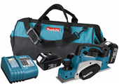 NEW MAKITA 18V LITHIUM-ION CORDLESS PLANER DELIVERS SPEED, CAPACITY AND PORTABILITY