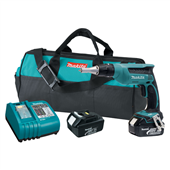NEW MAKITA 18V LXT LITHIUM-ION CORDLESS DRYWALL SCREWDRIVER DELIVERS SPEED & PORTABILITY