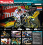 MAKITA'S NEW INTERACTIVE ACTION WEB PAGES FOCUS ON SPONSORED TEAMS IN RACING, SOCCER, AND MORE