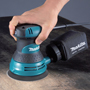 MAKITA'S NEW RANDOM ORBIT SANDER DELIVERS FAST, SMOOTH PERFORMANCE WITH BETTER GRIP AND CONTROL