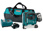 "MAKITA'S VERSATILE NEW 18V LXT LITHIUM-ION CORDLESS 3/8"" CROWN STAPLER ENGINEERED FOR A VARIETY OF TRADES"