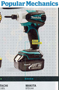 "POPULAR MECHANICS PICKS MAKITA CORDLESS IMPACT DRIVER AS ""BEST OVERALL"" BTD144 picked as ""Best"" out of nine top models"