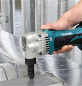 MAKITA ADDS THREE NEW METALWORKING SOLUTIONS, INCLUDING THE INDUSTRY'S FIRST 18V CORDLESS NIBBLER