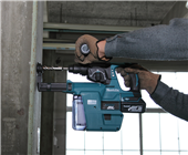 NEW MAKITA LXT® BRUSHLESS ROTARY HAMMER COMBINES CORDLESS CONCRETE DRILLING & DUST CONTAINMENT