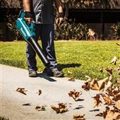 NEW MAKITA 18V LXT BRUSHLESS CORDLESS BLOWER BLOWS AWAY THE COMPETITION