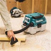 MAKITA ANNOUNCES 18V LXT CORDLESS 2 GALLON HEPA FILTER PORTABLE WET/DRY DUST EXTRACTOR/VACUUM