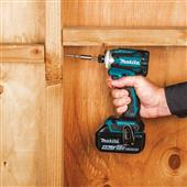 NEW MAKITA 18V LXT BRUSHLESS CORDLESS 4-SPEED IMPACT DRIVER OFFERS MORE SPEED AND FEATURES IN A COMPACT SIZE