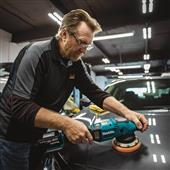"MAKITA INTRODUCES NEW 18V LXT BRUSHLESS CORDLESS 5""/6"" DUAL ACTION RANDOM ORBIT POLISHER FOR AUTOMOTIVE APPLICATIONS"
