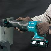 NEW MAKITA 18V LXT RECIPRO SAWS GIVE CONTRACTORS FREEDOM FROM THE CORD