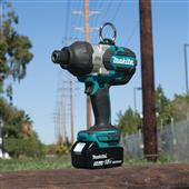 "NEW VIDEO HIGHLIGHTS 18V LXT BRUSHLESS HIGH TORQUE 7/16"" HEX IMPACT WRENCH"